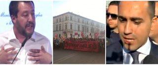 """Verona, Salvini alle donne: """"Il vero pericolo è l'Islam"""". Di Maio """"Al Congresso delle famiglie ci sono fanatici"""""""
