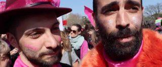 """Verona, corteo femminista e arcobaleno: """"Visione ancorata al passato. Hanno paura di noi ma siamo il presente"""""""