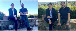 M5s-Lega, il governo ostenta serenità Salvini e Conte su Fb sorridenti in Toscana