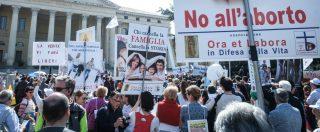 Congresso Famiglia, a Verona in corteo contro l'aborto: sfilano gli altri figli di Gandolfini, quelli in linea con il padre