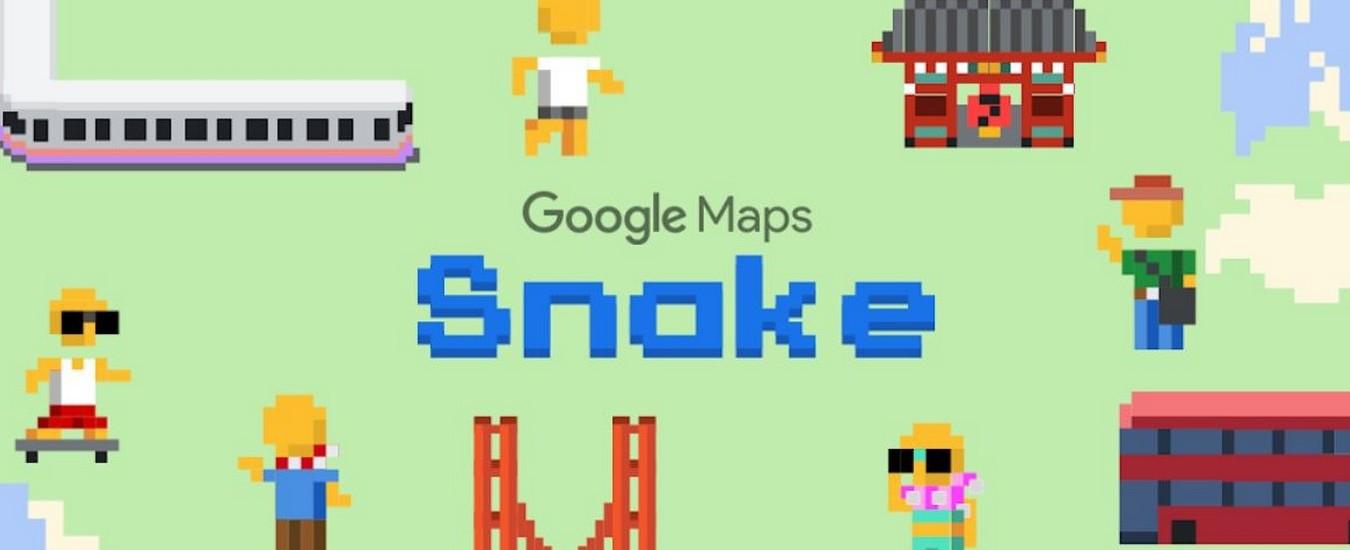 Il pesce d'aprile di Google riporta in vita Snake per una settimana