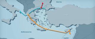 Gasdotto EastMed, la società va avanti: pronte procedure di esproprio dei terreni in Salento. Poi partiranno i sopralluoghi