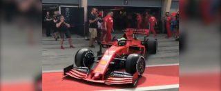 Mick Schumacher esordisce in Ferrari: i primi istanti del figlio di Michael alla guida della rossa di Maranello nei test della F1