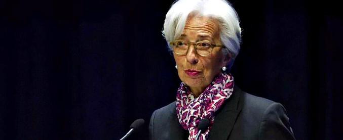 """Crescita, Lagarde (Fmi): """"70% del mondo rallenta, ma non prevedo recessione. Bisogna evitare passi falsi, come sui dazi"""""""