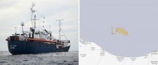 """Migranti, 64 salvati da Sea Eye al largo della Libia. 'Loro autorità irraggiungibili'. Salvini: """"La nave è tedesca, vada lì"""""""