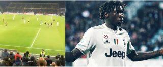 """Cagliari-Juventus, ululati razzisti contro il giovane Moise Kean. Allegri: """"Soliti imbecilli, vanno allontanati a vita"""""""