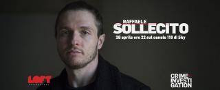 Raffaele Sollecito, su Crime+Investigation il documentario in onda il 28 aprile alle 22. Sui social è già polemica