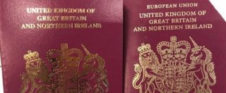 """Brexit, passaporti britannici già senza le parole """"Unione europea"""": ma il Regno Unito è ancora nella Ue"""