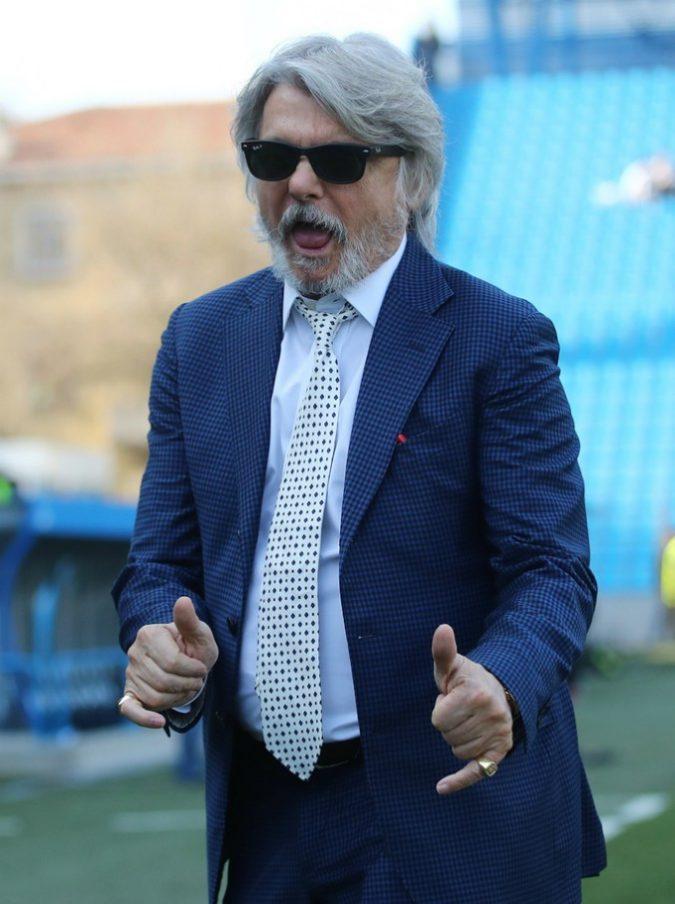 """Tifoso della Roma contro Massimo Ferrero, lui gli risponde: """"Ce l'hai talmente piccolo che neanche lo vedo"""""""