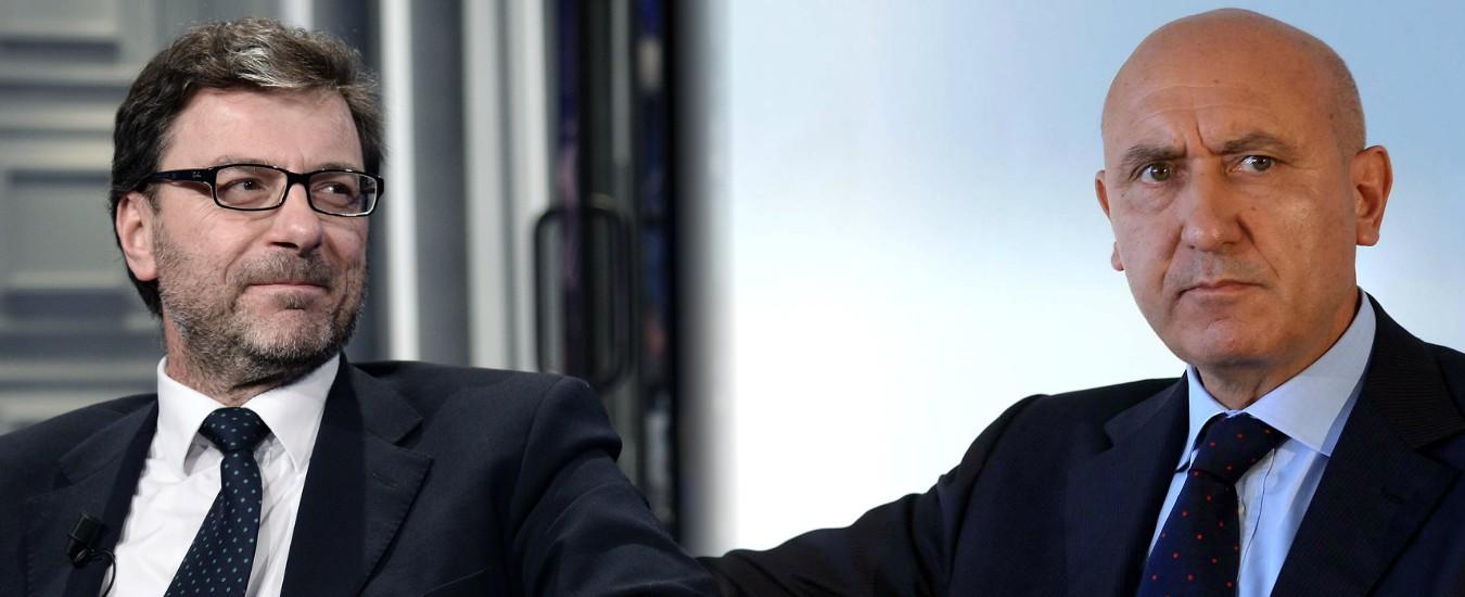 Sport e Salute, Giorgetti sceglie l'ex ad di Alitalia Rocco Sabelli per guidare la società che sostituisce la Coni Servizi