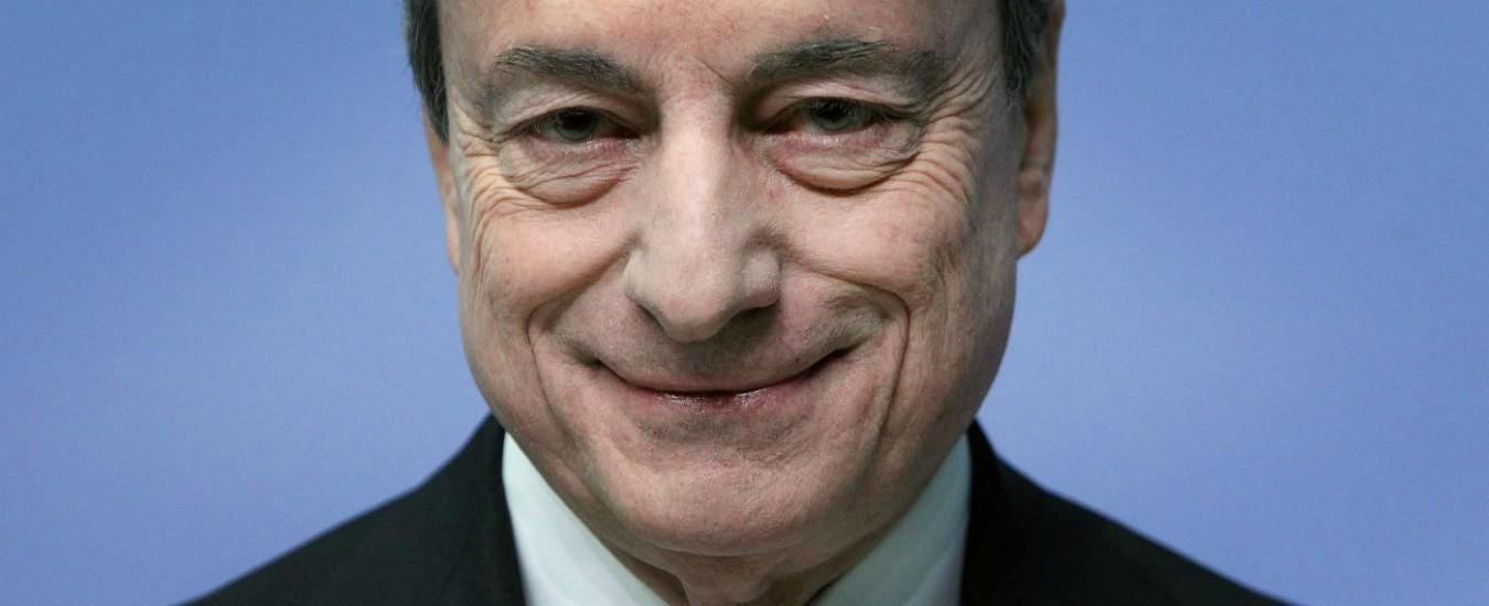 """Bce, Draghi: """"Restano incertezza e crescita debole"""". Nuovi finanziamenti per banche: tassi più bassi per chi dà più prestiti"""