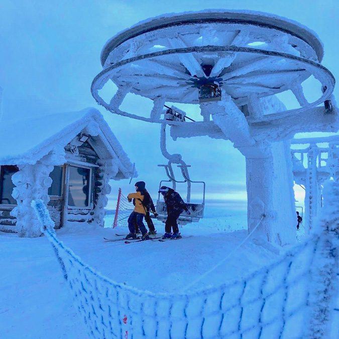 Natura: viaggio total-white nella gelida Lapponia finlandese