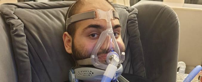 """Sla: dopo lo sciopero della fame, Palumbo accede a terapia ma non in Italia. """"Andrò in Israele, lotto per averla anche qui"""""""