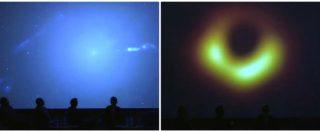 Rivoluzione nell'universo, la prima foto del buco nero viene svelata in diretta. E scattano gli applausi