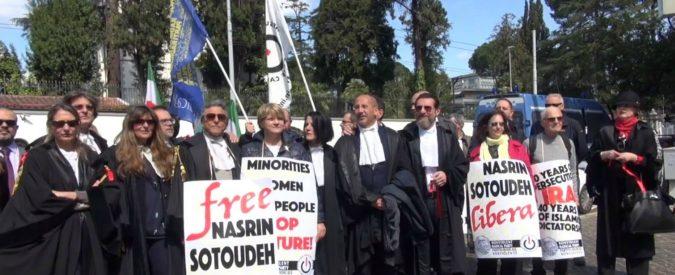 Nasrin Sotoudeh, l'avvocata iraniana è cittadina onoraria di Bologna. A quando gli altri Comuni?
