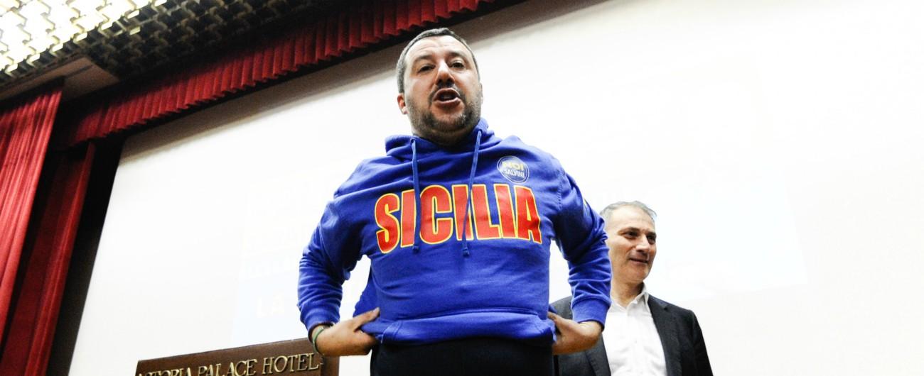 """25 aprile, Salvini va in Sicilia: """"La lotta ai clan è più importante"""". Anpi: """"Non usi l'antimafia contro l'antifascismo"""""""