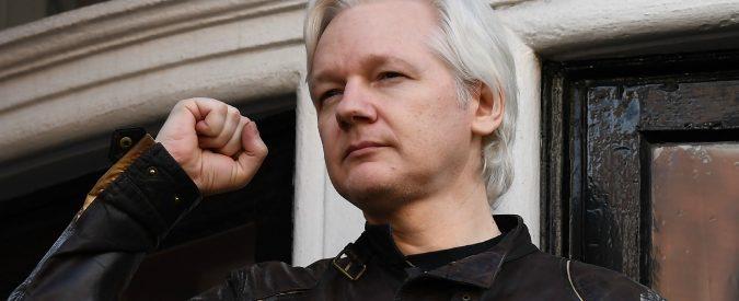 Julian Assange andrebbe premiato non arrestato