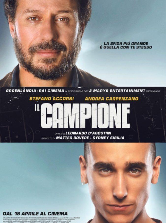 """Il Campione, il film con Stefano Accorsi arriva nelle sale: ottimo esempio di cinema """"medio"""" (che convince)"""