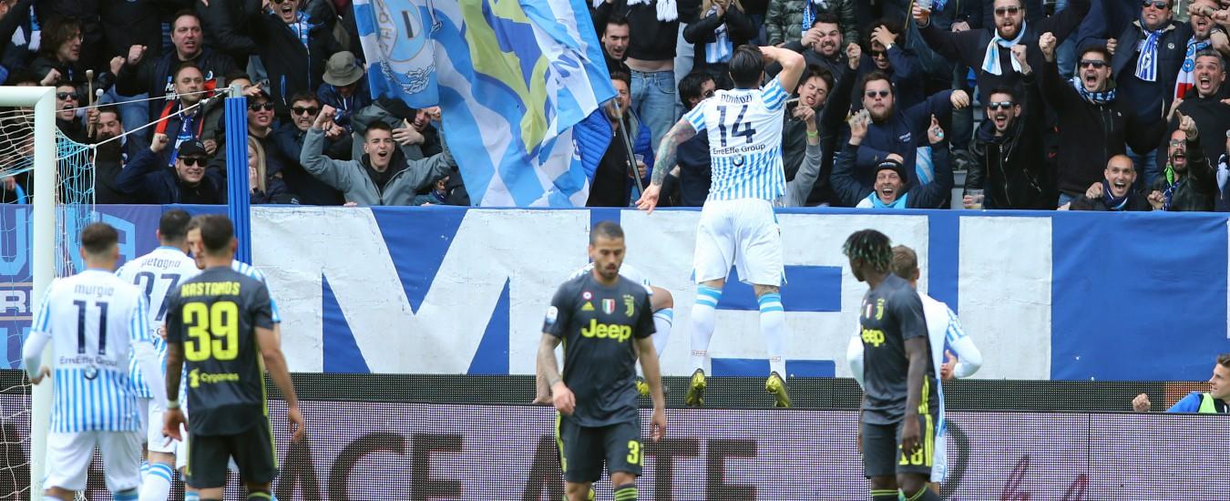 Spal-Juventus 2-1, i bianconeri rimandano la conquista dell'ottavo scudetto di fila