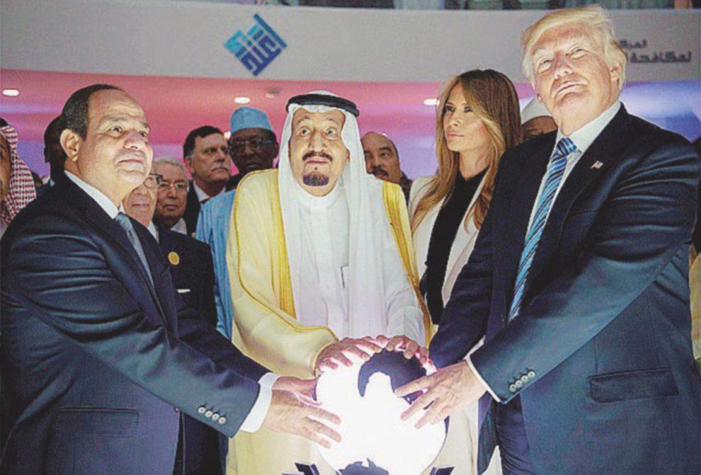Capi di Stato – Egitto, Arabia Saudita e Stati Uniti – Ansa