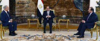 """Libia, Tripoli: """"Abbattuto caccia di Haftar"""" Che vola al Cairo dall'alleato Al Sisi: """"Egitto conferma sostegno al maresciallo"""""""