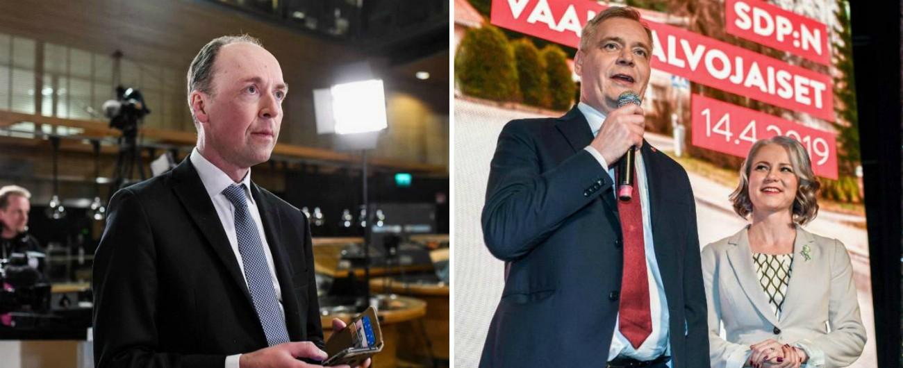 Elezioni Finlandia, testa a testa tra socialdemocratici e sovranisti. Boom dei Verdi. Crolla il Centro dell'ex premier