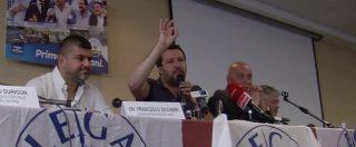 """Europee, Salvini: """"Per rispetto non andrò da Fazio. Cambio idea solo se si dimezza lo stipendio"""""""