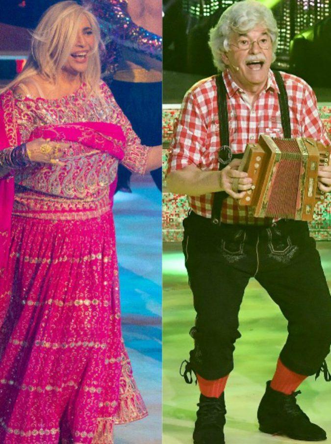 Ballando con le stelle, Venier in stile Bollywood e Razzi sulle note di Heidi. La Lucarelli difende Suor Cristina dagli hater