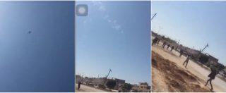 Libia, un caccia di Haftar abbattuto in diretta. L'esultanza delle forze governative a Qaser bin Ghashir