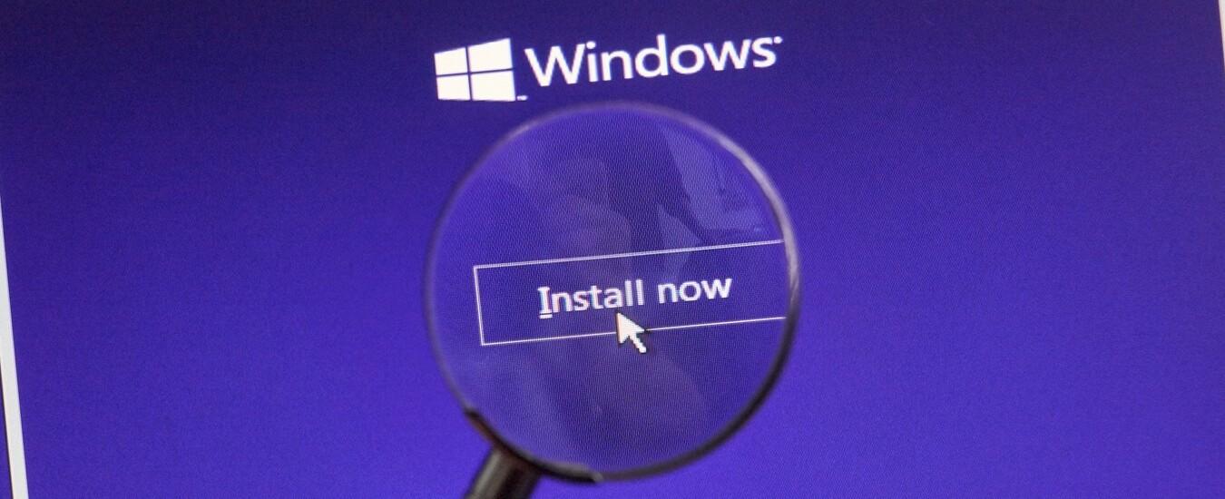 Installare Windows è semplice, basta avere una chiavetta USB e seguire queste istruzioni