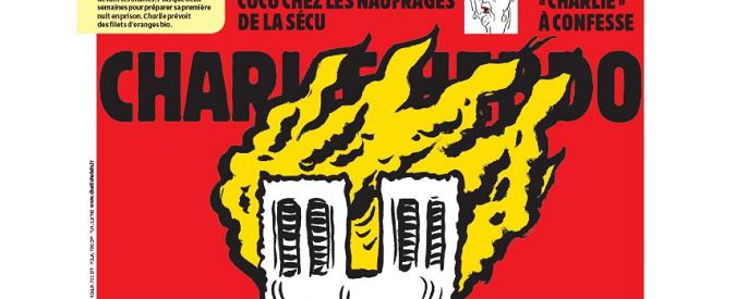 Notre-Dame, Charlie Hebdo e la satira stupida e cattiva
