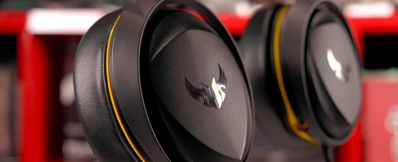 Asus TUF Gaming H5, cuffie da 90 euro indirizzate agli appassionati di giochi