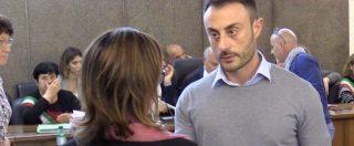"""Processo Cucchi, dopo l'interrogatorio il carabiniere Francesco Tedesco stringe la mano a Ilaria: """"Mi dispiace"""""""