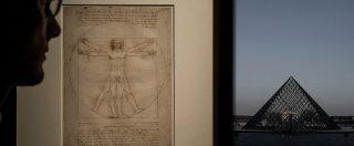 """Uomo vitruviano, Louvre vuole l'opera di Leonardo. Mibac: """"Allo studio possibili scambi, ma non c'è richiesta ufficiale"""""""