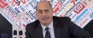 """Sanità Umbria, Zingaretti: """"Marini? Confido nel senso di responsabilità. Provvedimenti? Non all'ordine del giorno"""""""