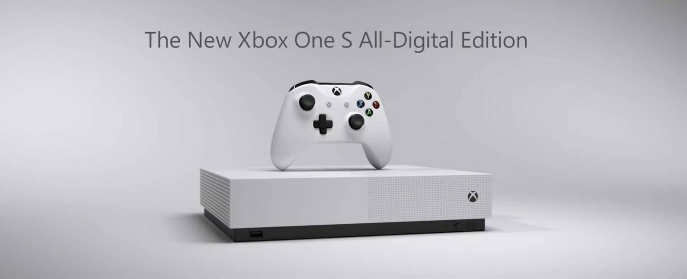 Xbox One S All-Digital disponibile dal 7 maggio a 229,99 euro