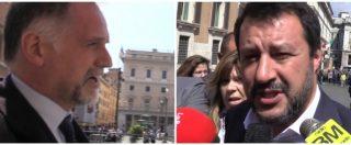 """Iva, Salvini: """"Non aumenterà. Risorse per flat tax? Ci stiamo lavorando"""". Garavaglia: """"Non rompete le scatole"""""""