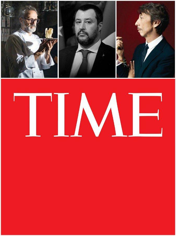 Time, gli italiani Salvini, Bottura e Piccioli nella classifica delle 100 persone più influenti del mondo