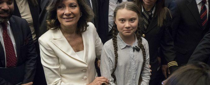 Greta Thunberg, oggi in Senato ho visto tutta l'ipocrisia della vecchia politica