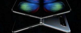 Lo smartphone pieghevole Galaxy Fold e le rotture dello schermo, Samsung pubblica una nota ufficiale
