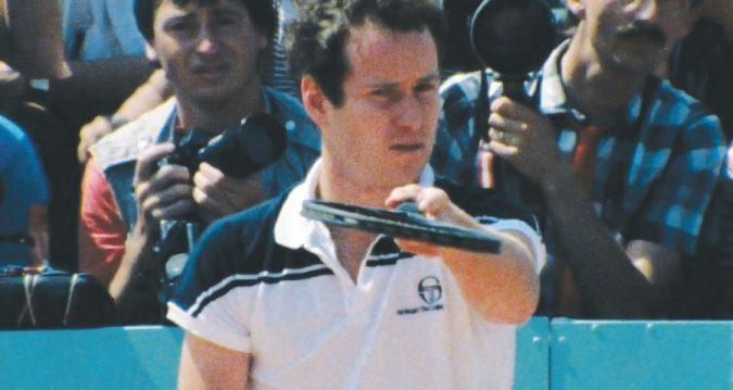 Nuovo cinema McEnroe: il tennis formato 16 mm