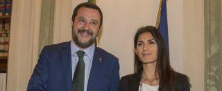 """Piano Salva-Roma, Salvini: """"Non esistono comuni di serie A e di B. Mi spaventa sindaco che dice di non controllare città"""""""