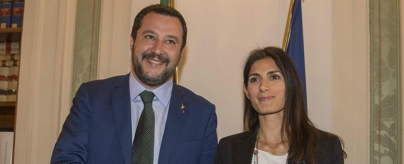 Roma, il piano di Salvini per conquistare il Campidoglio: già pronto il programma