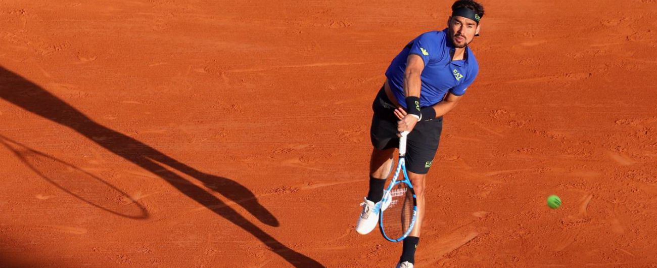 Atp Montecarlo, Fognini batte Nadal e va in finale: è dal 1976 che un italiano non arriva all'ultimo atto di un Master 1000