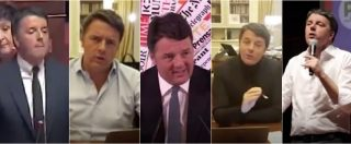 """Renzi, da """"Noi non utilizziamo aggressioni verbali"""" a """"Grillo fai schifo"""". Il blob della giravolta del senatore di Rignano"""