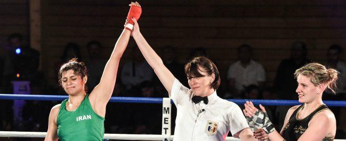 Iran, la boxeur rischia l'arresto perché senza velo. Fossi in lei, per ora non tornerei in patria