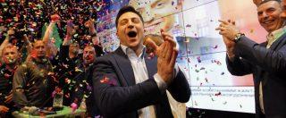 """Elezioni Ucraina, Zelensky presidente con oltre il 70% dei voti. Il comico ha battuto Poroshenko: """"Non vi deluderò mai"""""""