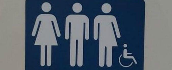 """Reggio Emilia, bagni """"gender neutral"""" in Comune: è la prima volta in Italia"""