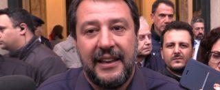 """Siri indagato, Salvini: """"Per quanto mi riguarda resta al suo posto. Arata? L'ho visto una volta sola"""""""