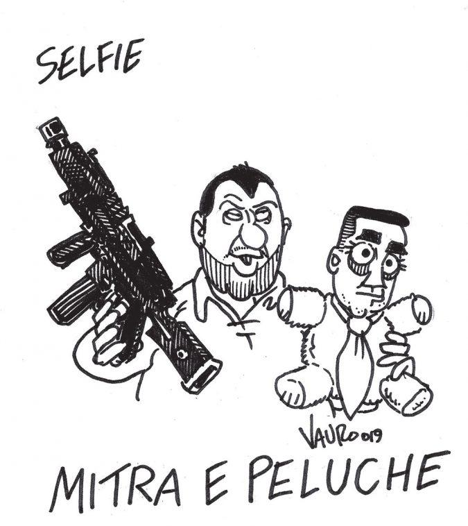 La vignetta di Vauro 2304